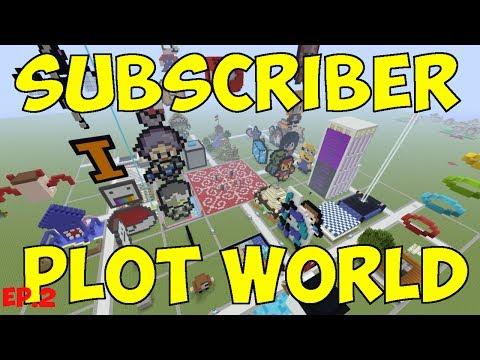 🔴 LIVE Minecraft - Subscriber Plot World - PS4 - Ep2