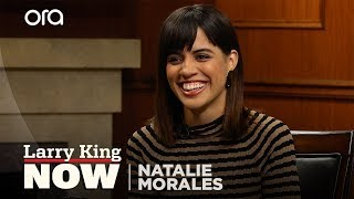 Download Why Natalie Morales decided it was important to come out as queer | Larry King Now | Ora.TV Video