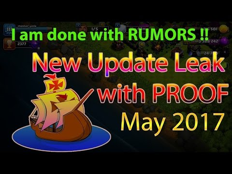 Clash Of Clans New Update May 2017 CONFIRMED