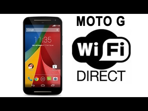 Enable WiFi Direct in Moto G1, G2, G3, G4 & G5 |Kitkat, Lollipop, Marshmallow, Nougat] | DROID GEN