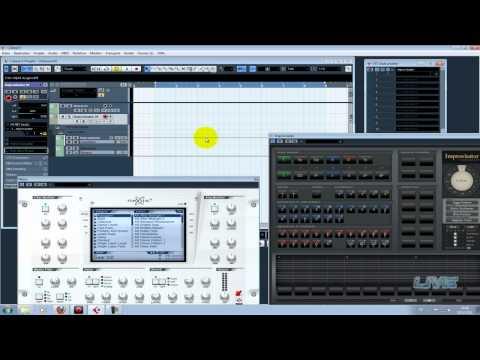 Harmony Improvisator (HowTo work in Cubase 5)