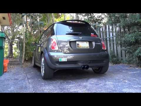 MINI R53 Invidia catback RMW header exhaust sound