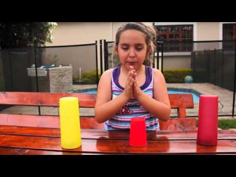 LEARN HOW TO DO THE CUP SONG RHYTHM BEAT WITH MIA!