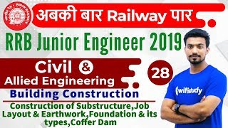 9:00 PM - RRB JE 2019 | Civil Engg by Sandeep Sir |Building