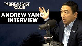 Andrew Yang On Solving America's Problems, December Debates, Trump Zingers + More