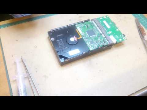 IDE HDD Repair with failed TVS Diode