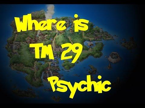 Where Is: TM 29 - Psychic (Location 1) (Pokemon Ruby/Sapphire/Emerald)
