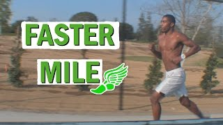 How To Run A Faster Mile Sprinters Distance Runners