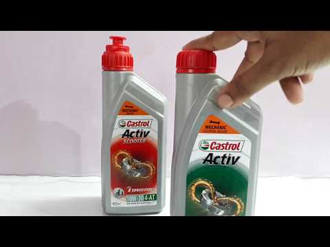 Choose correct Engine oil For your Scooter.