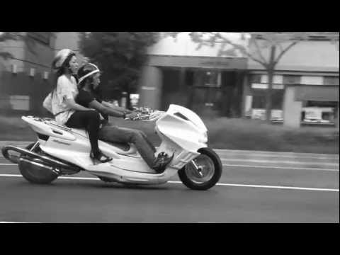Japanese scooter motorcycle