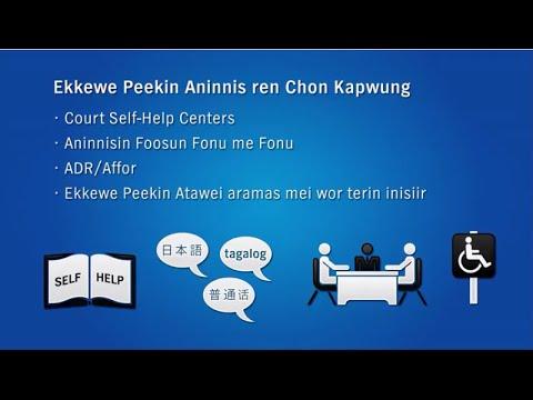 Peekin Aninnis ren Chon No non Kapwung (Chuukese Court Resources)