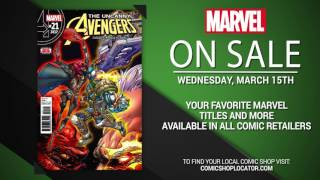 Marvel NOW! Titles for March 13th