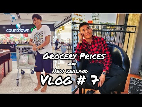 New Zealand Grocery Prices and Wellington Vlog | Filipino In New Zealand