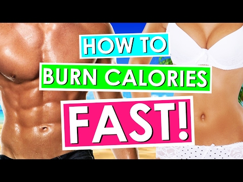 How to Burn 2000 Calories in 5 MINUTES! (Quick Workout at Home!)