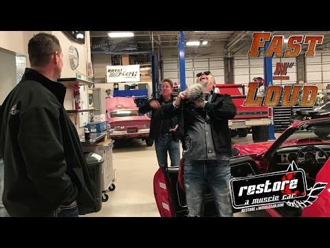 Fast N Loud at Restore a Muscle Car