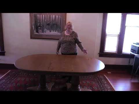 Mason Double Pedestal Table