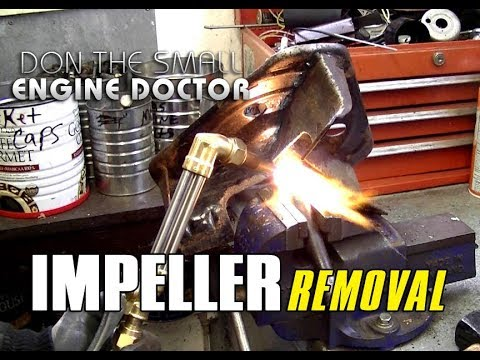 HOW-TO Remove A Seized Snowblower Impeller