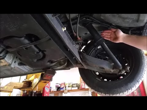 How To Replace Rear Shocks On A Nissan Sentra