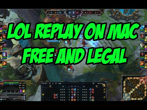 OFFICIAL - How to get LoL replay on MAC FREE (LEGAL)