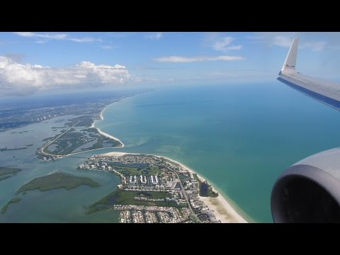 Landing & Taxi at Ft. Myers (RSW) :: 737-800 :: American Airlines