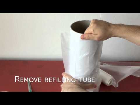 Refilling Your Sangenic Nappy Bin with Cheaper Refills