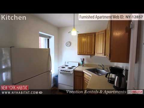Video Tour of a Furnished 1-Bedroom Apartment in East Harlem, Manhattan, New York