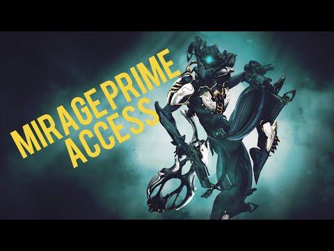 Warframe - Mirage Prime,Kogake Prime, Akbolto Prime & Armor Preview