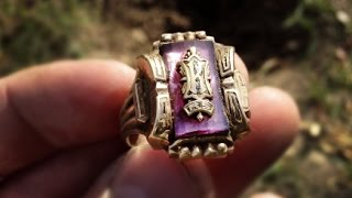 What he does after finding a huge gold ring is totally unexpected.