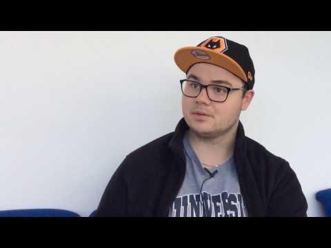 Erasmus Student, Damien on International Study at WLV