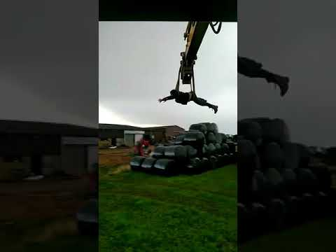 Learning to fly with a digger