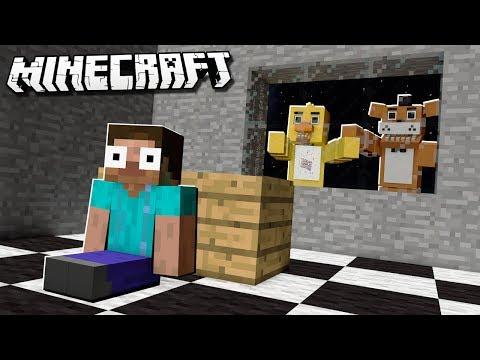 FNAF ANIMATRONICS vs. PIZZERIA BASE in Minecraft!