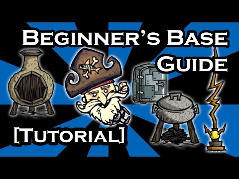 DON'T STARVE SHIPWRECKED GUIDE - BASE GUIDE FOR BEGINNERS (TUTORIAL)