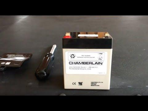 How to replace Garage Door Opener Battery - FAST & EASY!