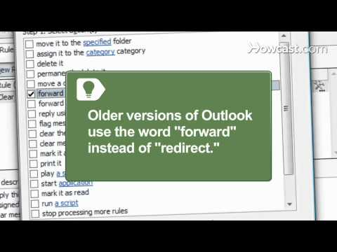 How to Redirect E-mail From Outlook to Gmail or Hotmail