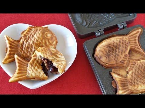 How to Make Taiyaki たい焼きの作り方 - OCHIKERON - CREATE EAT HAPPY (GIVEAWAY CLOSED)
