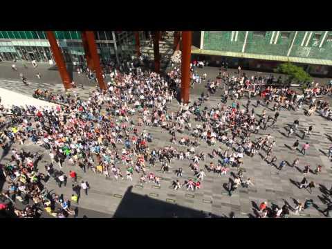 Xxx Mp4 Waka Waka Biggest Flashmob In The Netherlands 3gp Sex