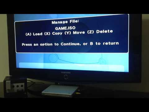 GAMECUBE: ISO Loading from SD Card (using Datel SD Media Launcher) GCoS/Swiss