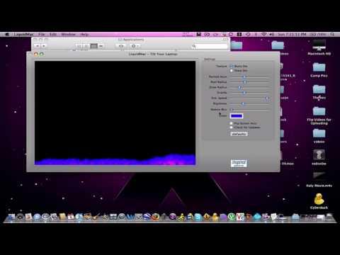 Liquid Mac cool Application for Apple Laptops