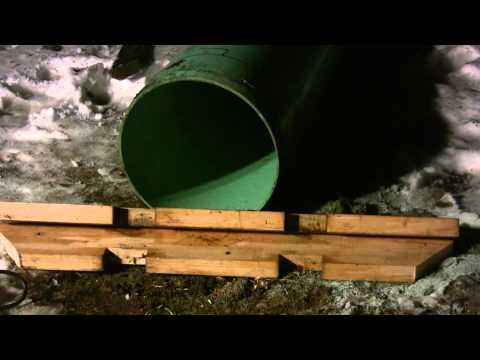PVC Snowboard Rail Creation