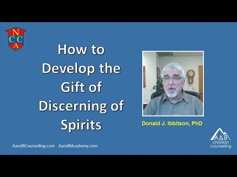 How to Mature the Gift of Discerning of Spirits