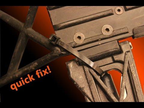Easy way to Fix a  Broken RC Suspension Arm
