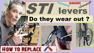 STI Levers- Do they wear out?