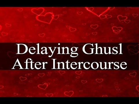 Delaying Ghusl After Intercourse