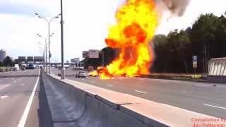 Hazmat Highway to Hell with High Pressure Gas Cylinders (No Music)