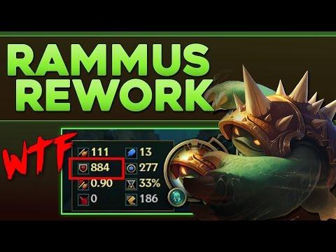Rammus Rework - Fast 1000 Armor ?!