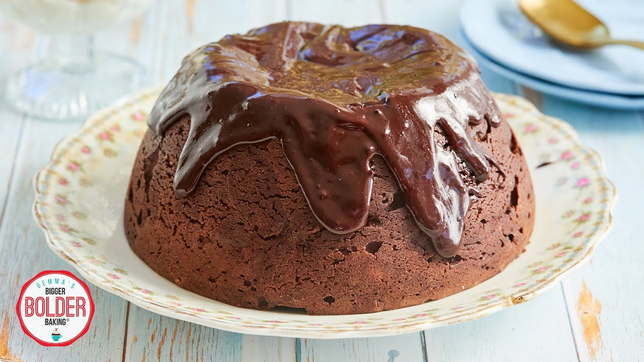 Decadent Steamed Chocolate Pudding