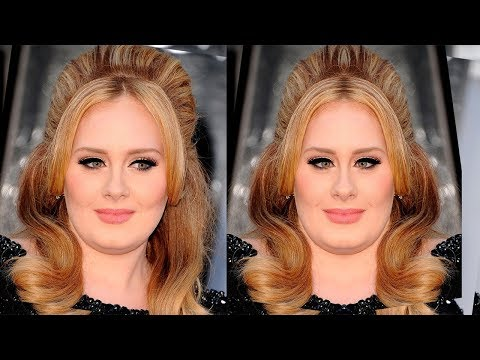 How Female Artist Would Look Like If Their Faces Were Symmetrical