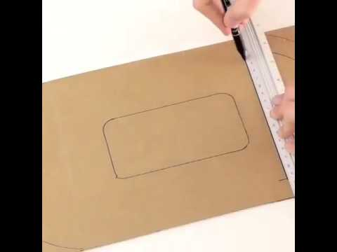 How to make cardboard mobile keeps
