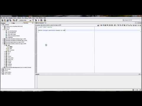 Develope Database Application Using NetBeans & iReport # Episode 1