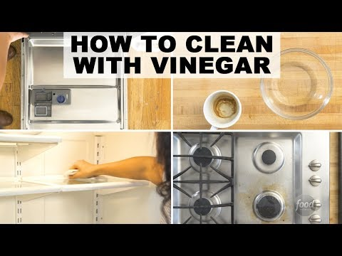 4 Clever Ways to Clean with Vinegar | Food Network
